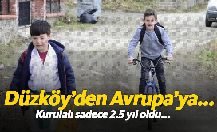 Düzköy'de kurulan takımın hedefi Avrupa