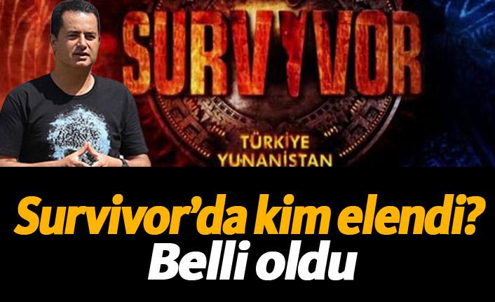 Survivor'da kim elendi? İşte Survivor'a ilk veda eden isim