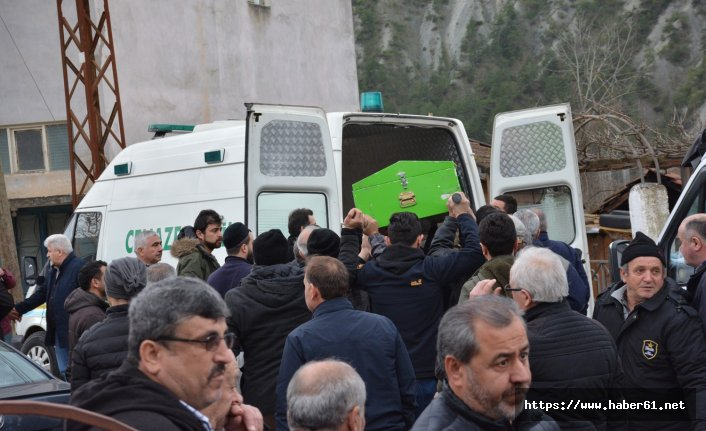 Trabzon'da vefat eden genç işçi son yolculuğuna uğurlandı
