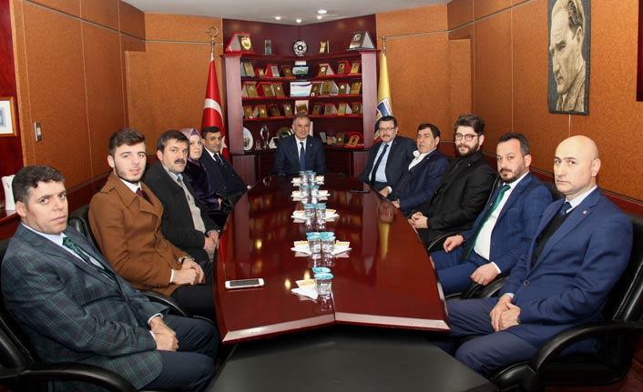 Ahmet Metin Genç, Trabzon Ticaret Borsası'nda...