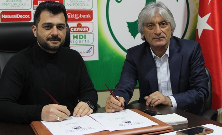 Giresunspor'un yeni teknik direktörü göreve başladı!