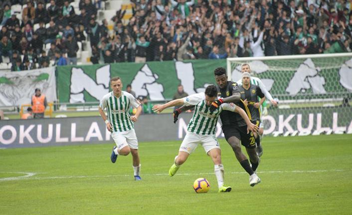 Atiker Konyaspor beraberliği kurtardı!