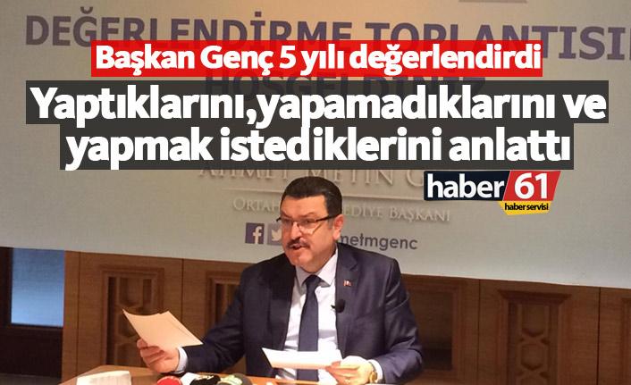 Ahmet Metin Genç 5 yılı değerlendirdi