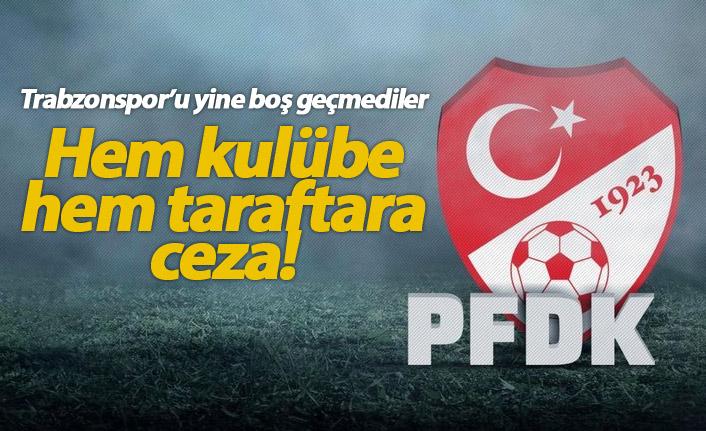 PFDK Trabzonspor'u boş geçmedi!