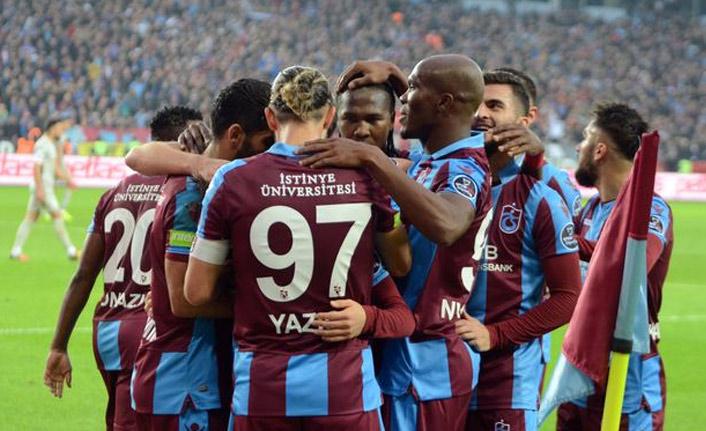 """Trabzonspor'da hedef bitmez"""