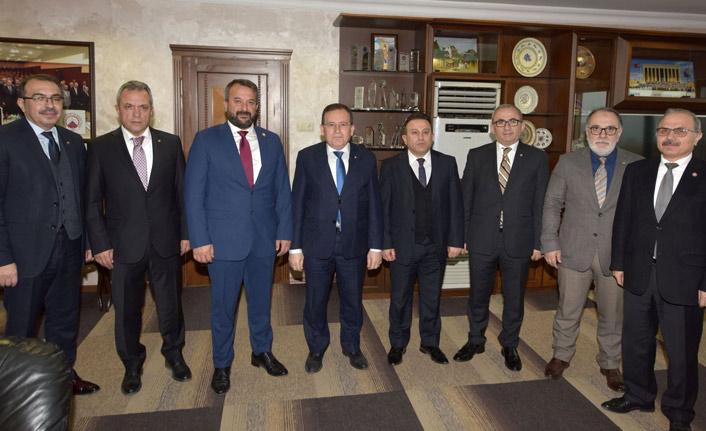 TÜMKİAD Trabzon Şubesi'nden TTSO'ya ziyaret
