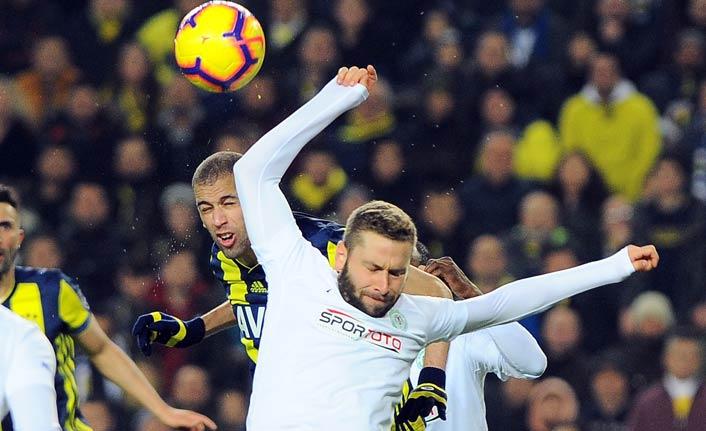 Fenerbahçe ile Konyaspor berabere