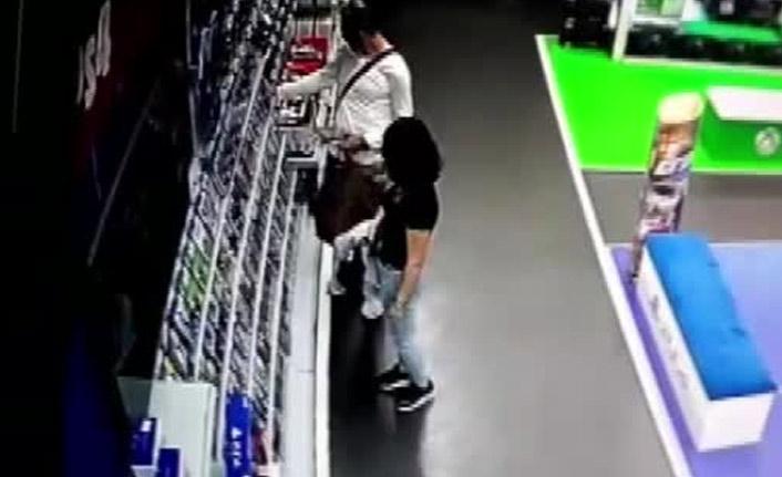 Hırsızların özel düzenekli yöntemi şok etti