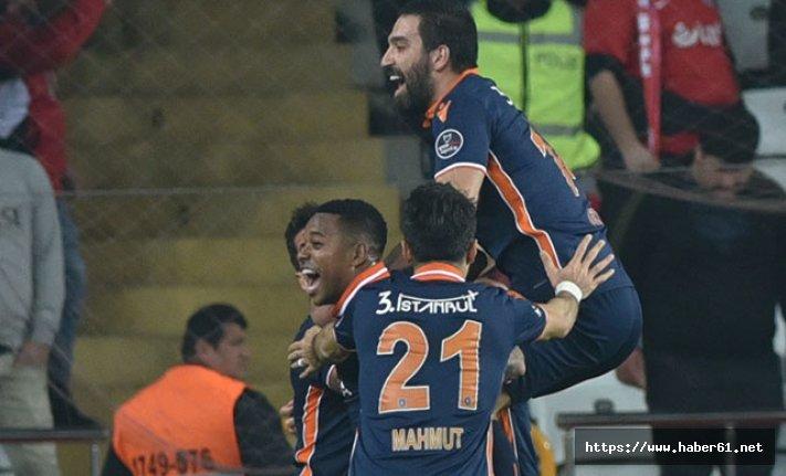 Antalyaspor - Medipol Başakşehir: 0-1