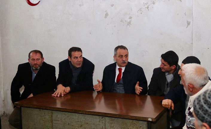 """İbrahim Sağıroğlu: """"Destek sizden hizmet bizden"""""""