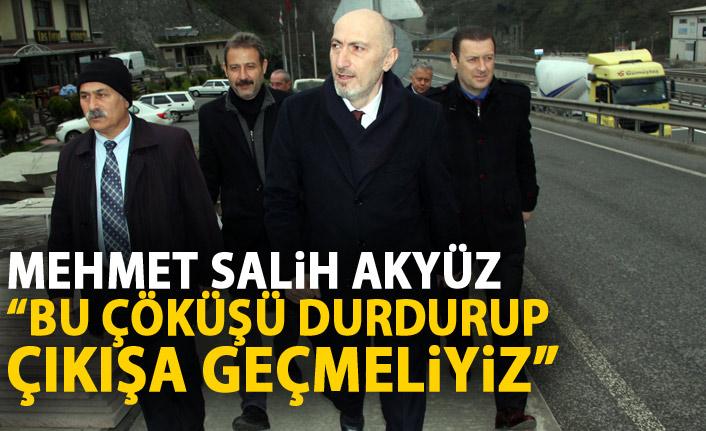 Mehmet Salih Akyüz: Çıkışa geçmeliyiz!