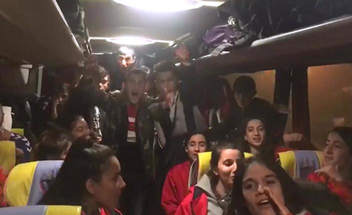 Siirtli Kızlardan Trabzonspor sloganı