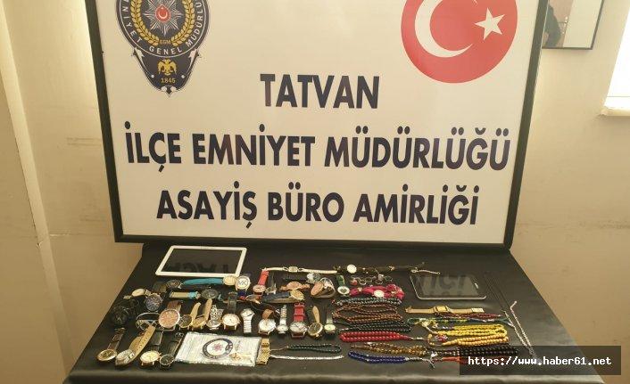10 farklı evde hırsızlık yapan şahıslar yakalandı