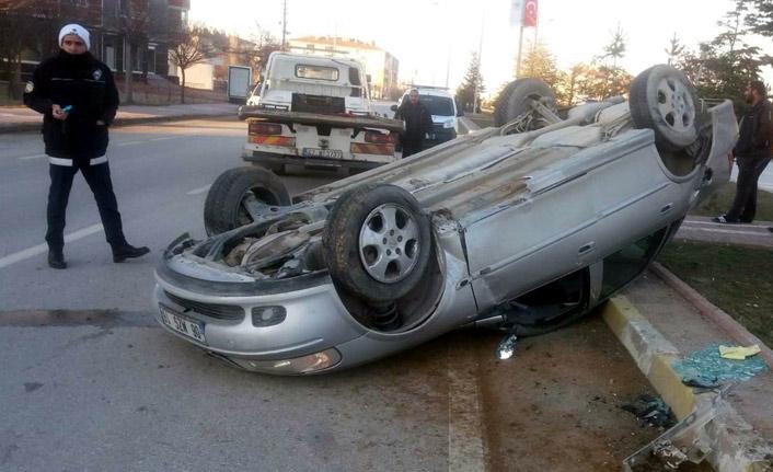 Konya'da kaza: 1 yaralı