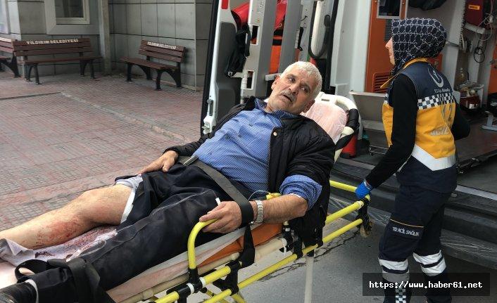 Artvin'den Bursa'ya döndü bacağından vuruldu!