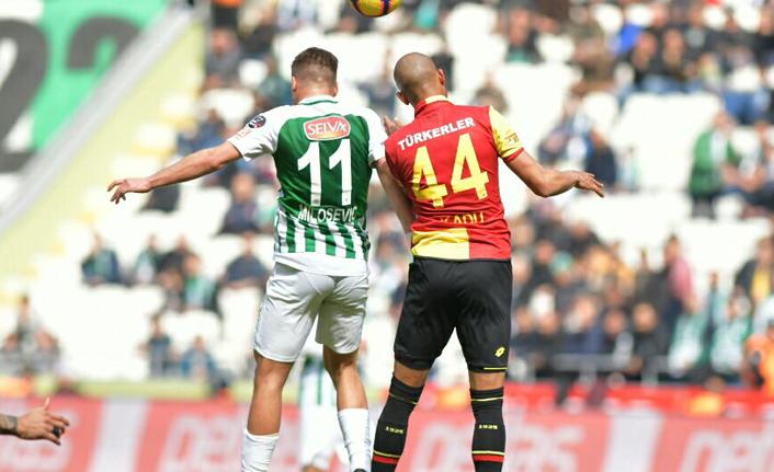 Atiker Konyaspor Göztepe ile berabere!