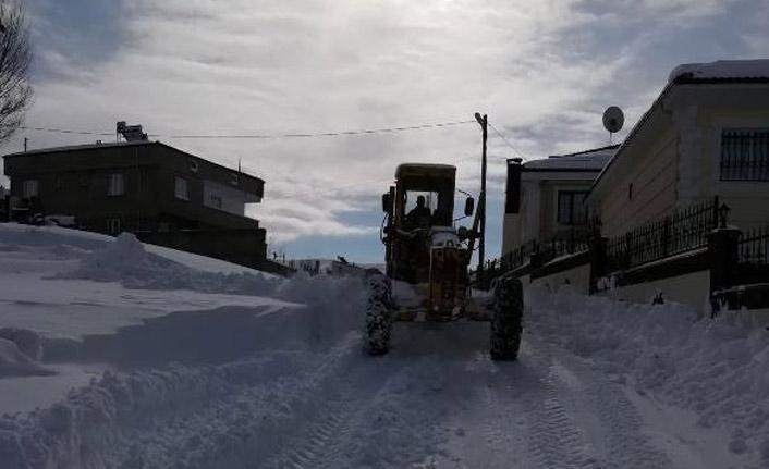 Gümüşhane'de 78 köy yolu kapandı