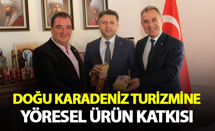 Doğu Karadeniz Turizmine yöresel ürün katkısı
