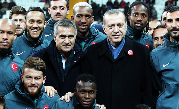 Erdoğan'a Şenol Güneş mutluluğu