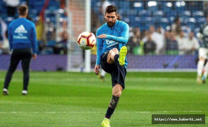 Messi geri döndü