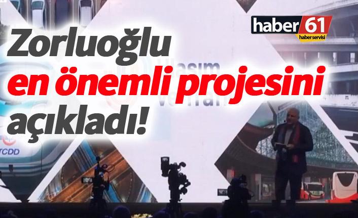 Murat Zorluoğlu en önemli projesini açıkladı!
