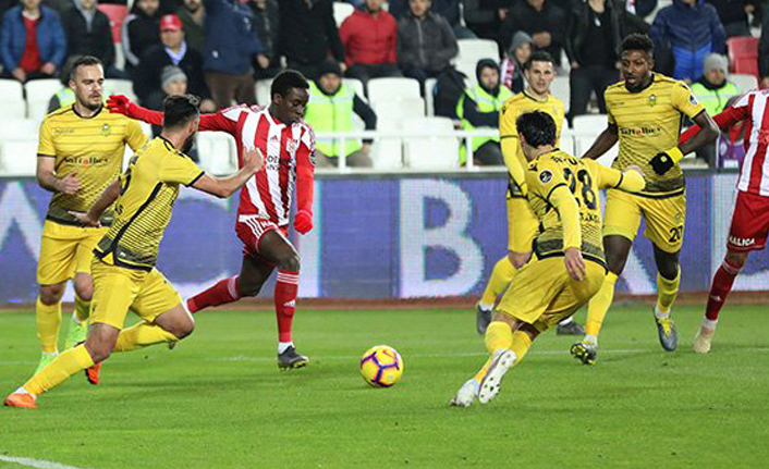 DG Sivasspor'dan net galibiyet!