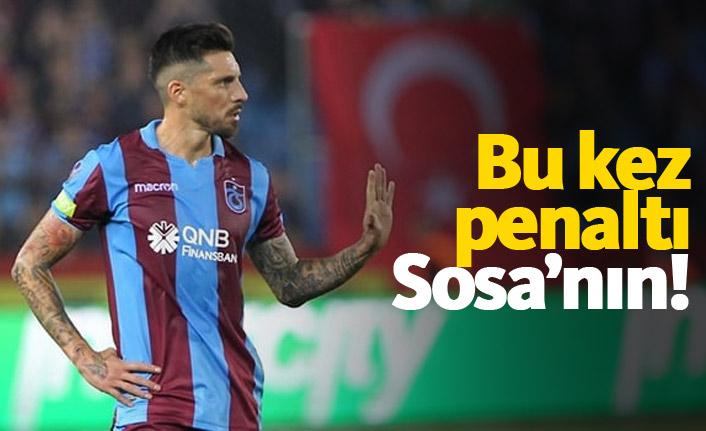 Bu kez penaltı Sosa'nın!