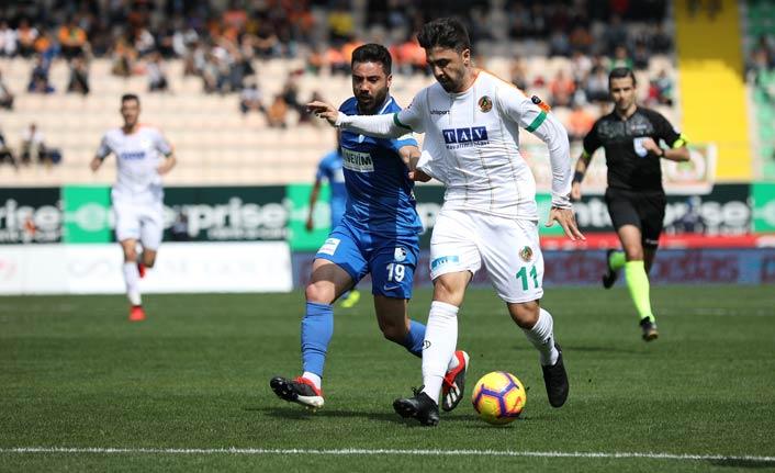 4 penaltılı maçta Aytemiz Alanyaspor galip çıktı!