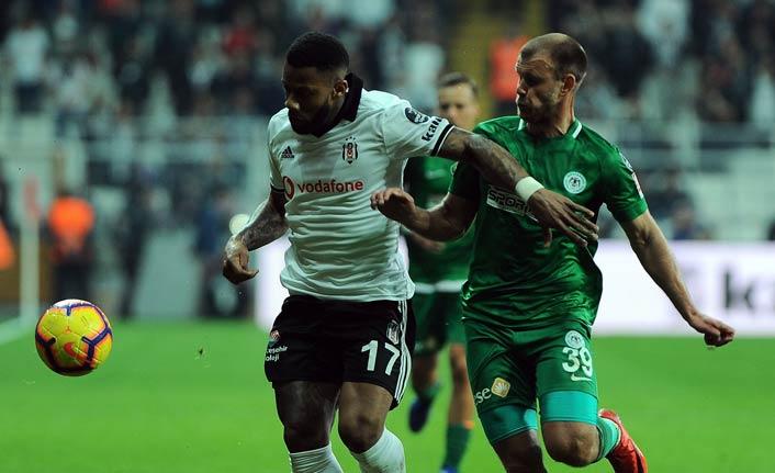 Beşiktaş Konyaspor'u mağlup etti