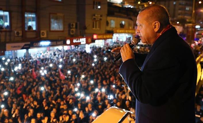 Cumhurbaşkanı Erdoğan: Bizim vatansever, milliyetperver olmaktan başka gayemiz olamaz