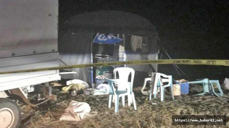 Adana'da facia! 5 kişi çadırda ölü bulundu!