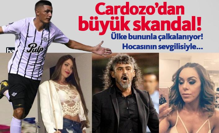 Oscar Cardozo'dan yasak aşk skandalı