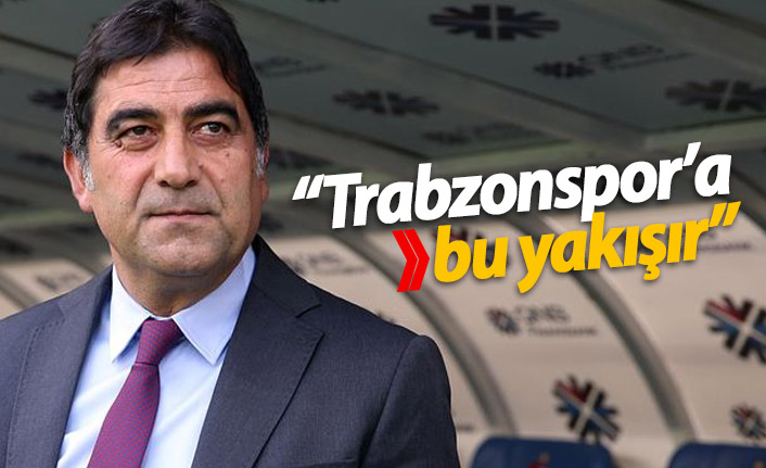 """""""Trabzonspor'a bu yakışır"""""""
