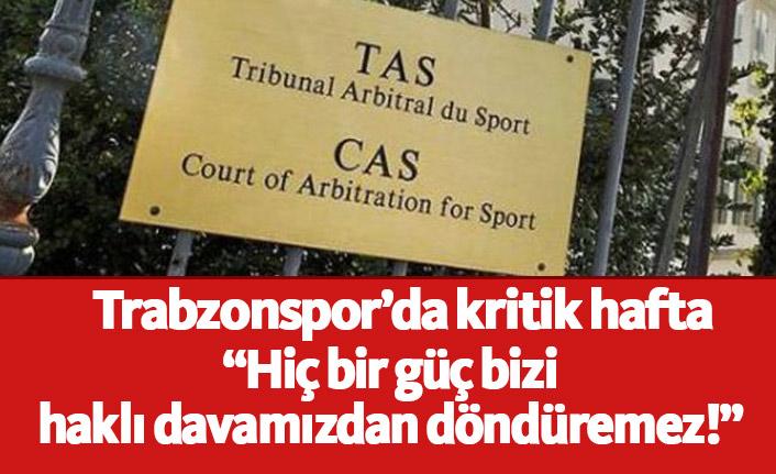 Trabzonspor'da kritik hafta!
