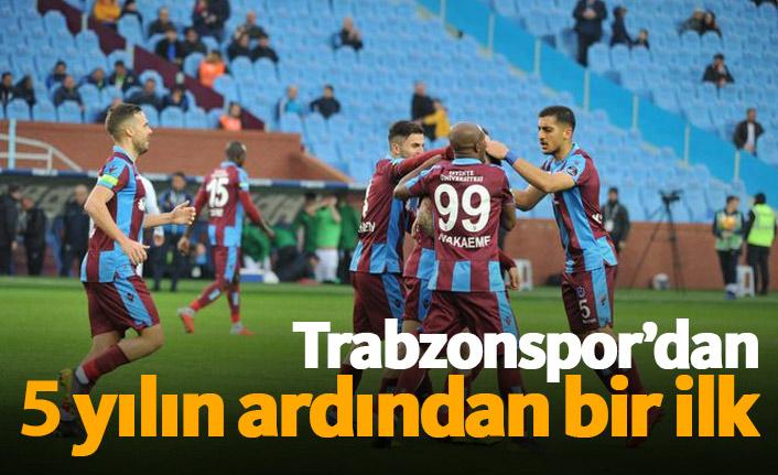 Trabzonspor 5 yılın ardından ilki başardı