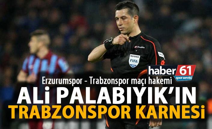Ali Palabıyık'ın Trabzonspor Karnesi