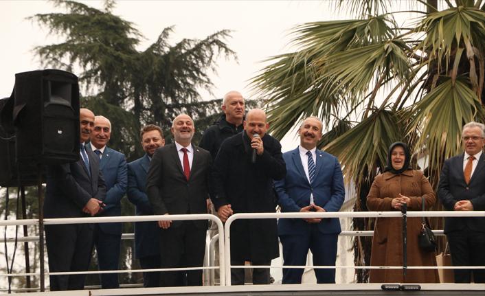 """Bakan Soylu Ardeşen'de konuştu: """"O çocukların hesabını sormazsak namerdiz"""""""