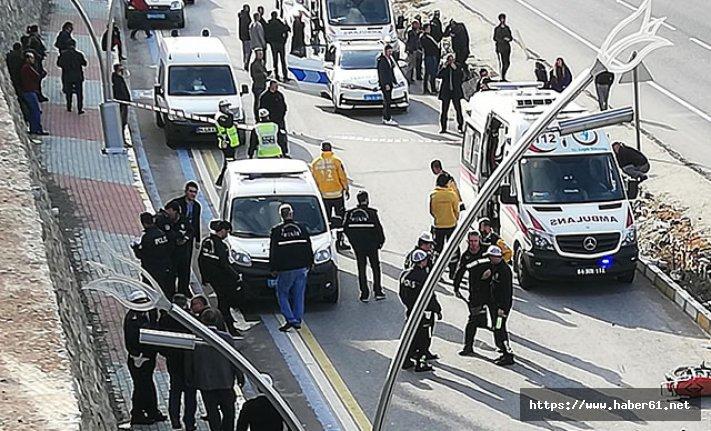 Bir polisin en acı anı! Görevli olarak gittiği olay yerinde...