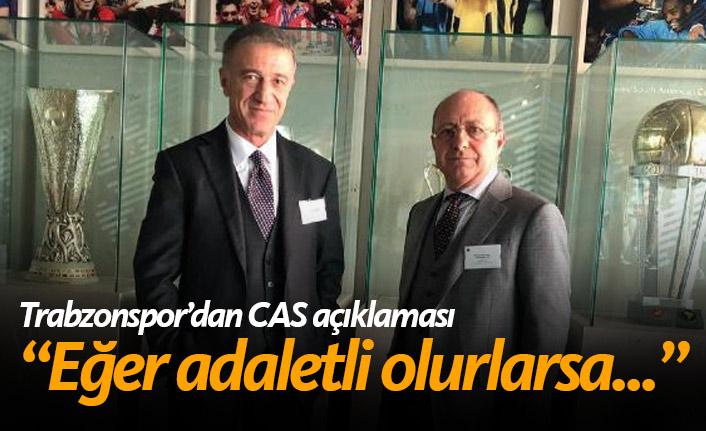 Trabzonspor CAS'tan iyi sonuç bekliyor