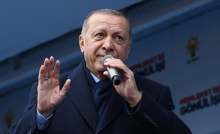 Cumhurbaşkanı Erdoğan'dan terör saldırısına kınama