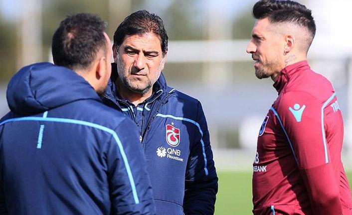Trabzonspor'da maç öncesi sevindiren gelişme