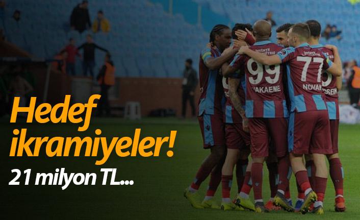 Trabzonspor'un hedefi ikramiyeler