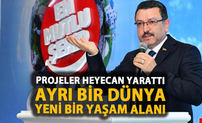 Ahmet Metin Genç: İstihdam artırıcı projelerle yola çıktık