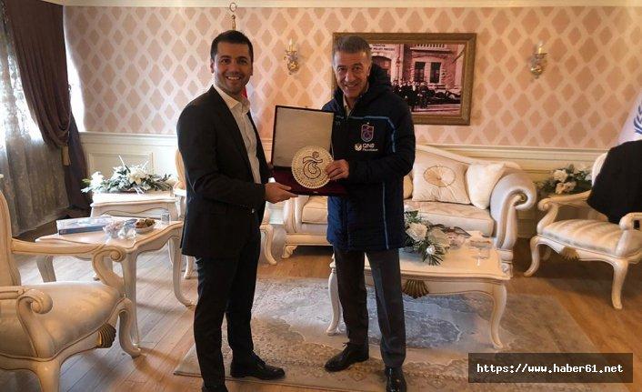Erzurumspor'dan Trabzonspor'a dostluk yemeği