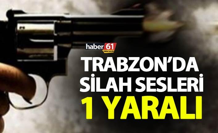 Trabzon'da silah sesleri - 1 yaralı