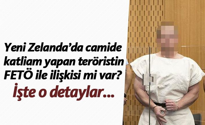 Yeni Zelanda'da camide  katliam yapan teröristin FETÖ ile ilişkisi mi var?