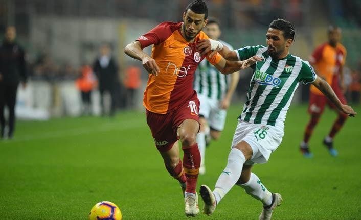 Galatasaray Bursaspor'u devirdi