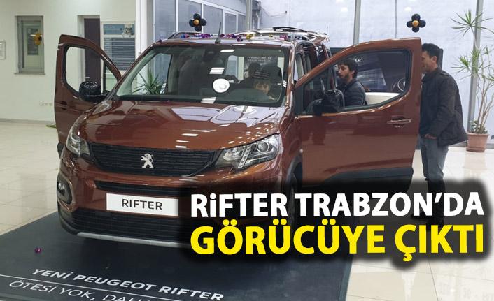 Peugeot yeni aracı Rifter'i Trabzon'da tanıttı