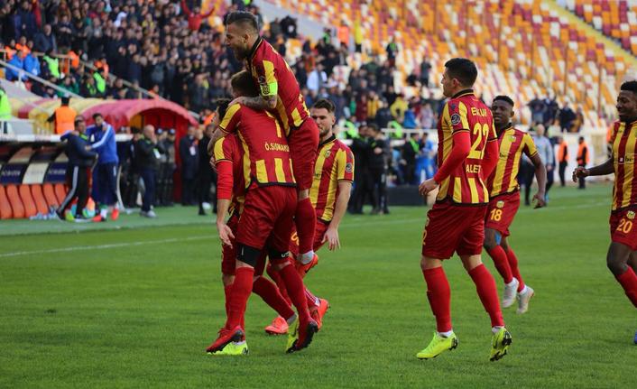 Yeni Malatyaspor 3 puanı kaptı!