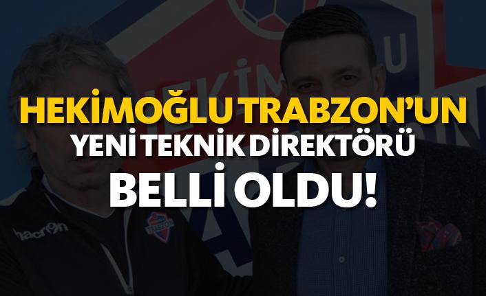 Hekimoğlu Trabzon'un yeni teknik direktörü belli oldu!